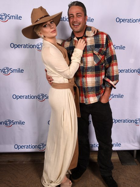 Lady Gaga and Taylor Kinney cosy up at Operation S