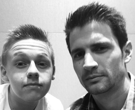 One Tree Hill Father and Son selfie