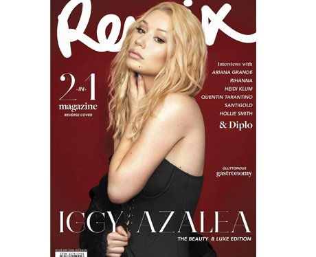 Iggy Azalea on the cover of Remix