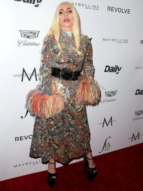 Lady Gaga at Daily Row Fashion Awards