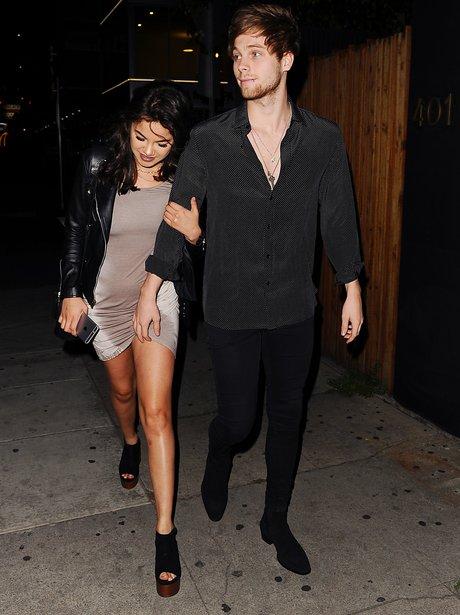 Luke Hemmings and girlfriend leave Nice Guy in LA