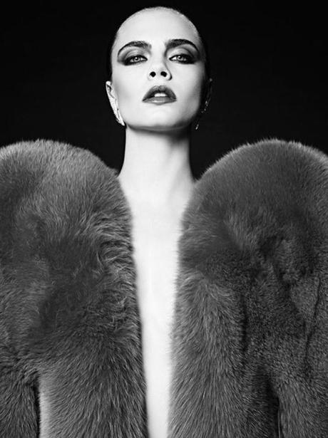 Cara Delevingne makes her return to modelling for