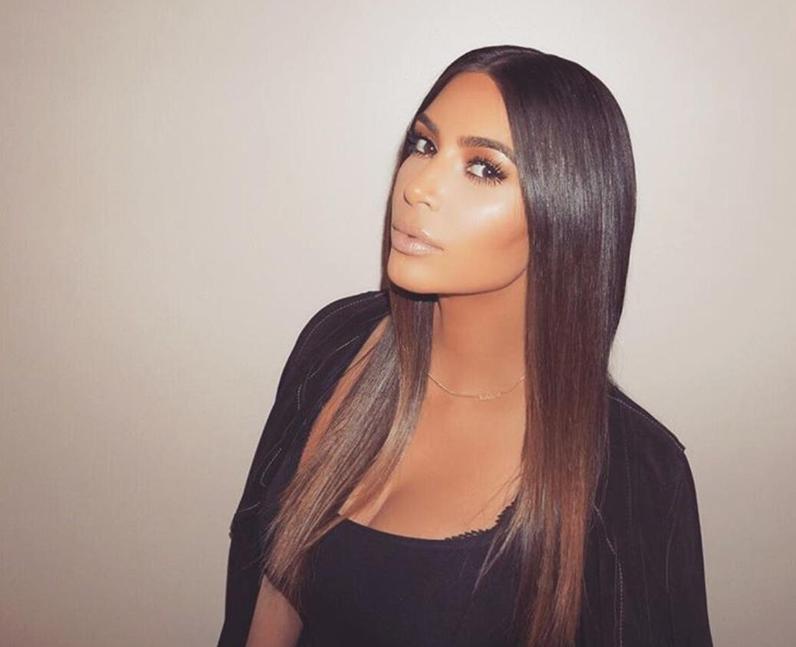 Kim Kardashian before her appearance on Kocktails