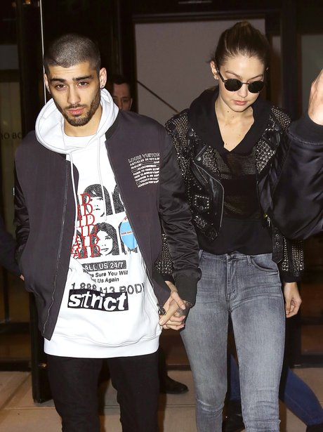 Zayn Malik and Gigi Hadid spotted out on romantic