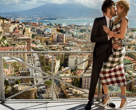 Gigi Hadid and Zayn Malik in Naples for Vogue Maga