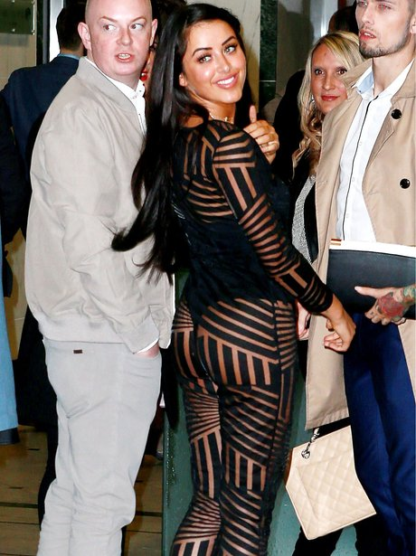 Marnie Simpson in seriously revealing jumpsuit