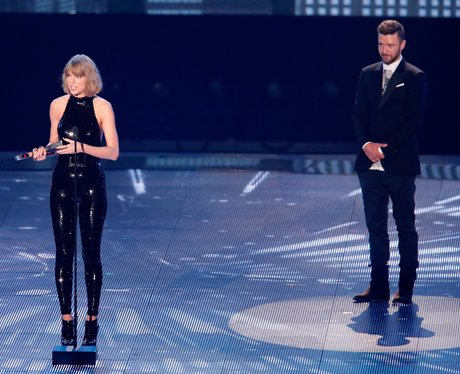Taylor Swift Justin Timberlake at iHeart Music Awa
