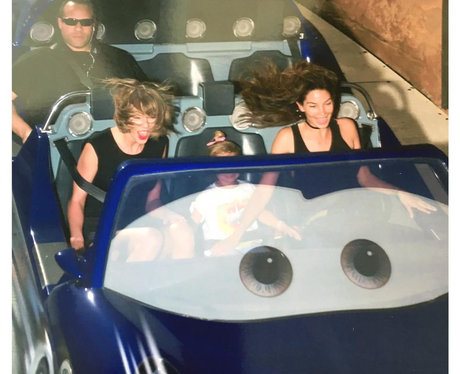 Taylor Swift Lily Aldridge at Disneyland