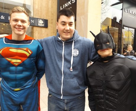 Batman vs Superman At The Hayes
