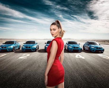 Gigi Hadid for BMW