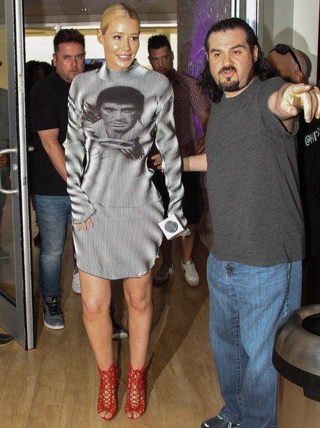 Iggy Azalea in Scarface dress