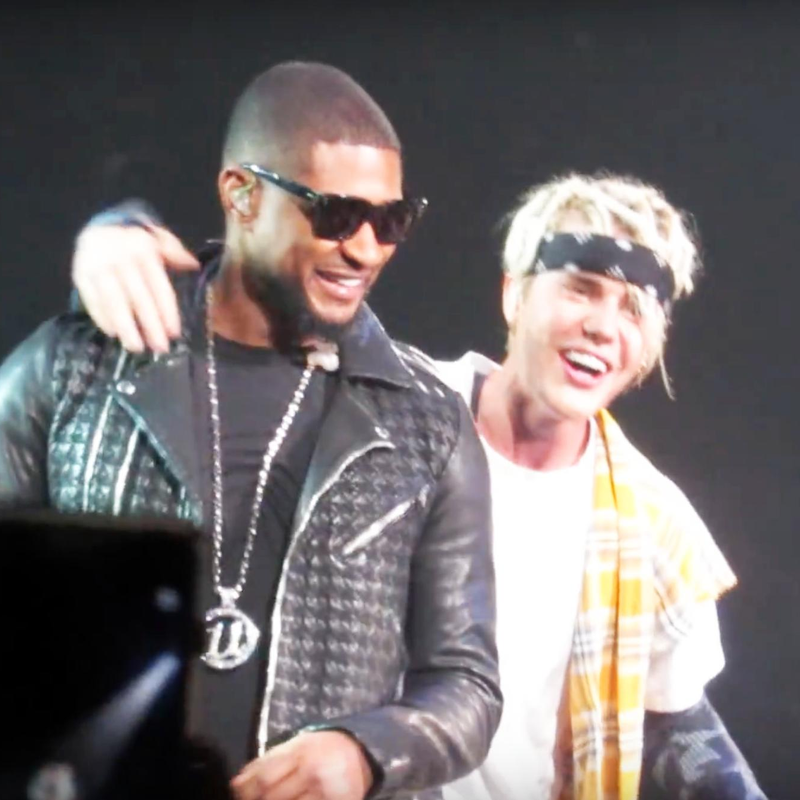 Justin Bieber and Usher 'Purpose' Tour
