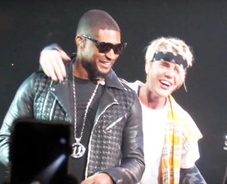 Justin Bieber And Usher Purpose Tour