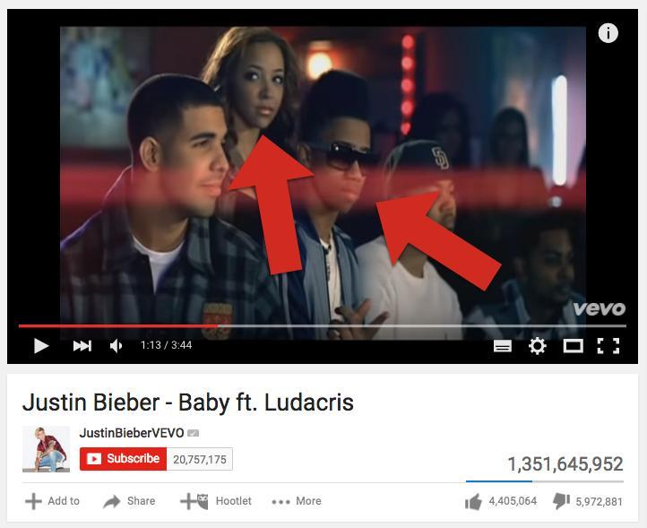 Justin Bieber Baby Music Video