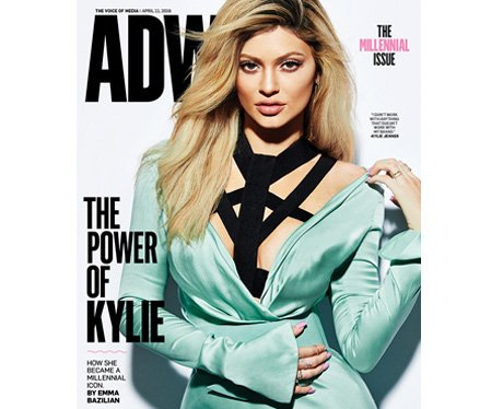 Kylie Jenner AdWeek Magazine Cover