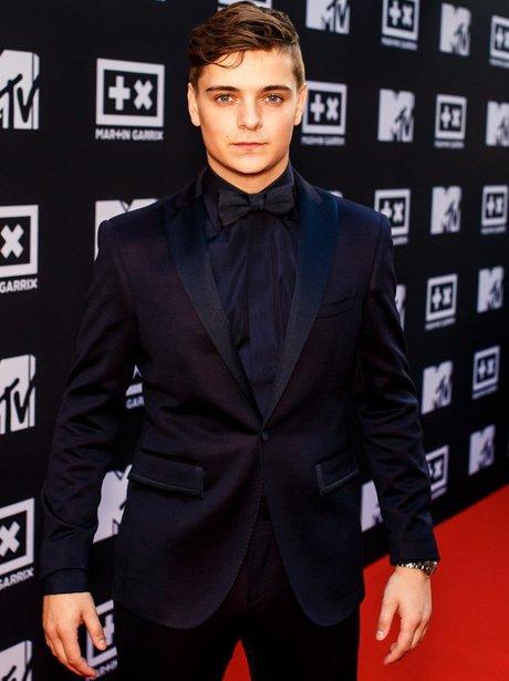 Martin Garrix The Ride Red Carpet (MTV)