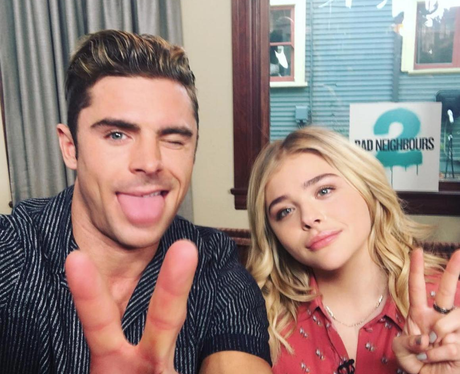 Zac Efron and Chloe Grace Moretz
