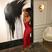 Image 2: Blac Chyna sports racy red dress