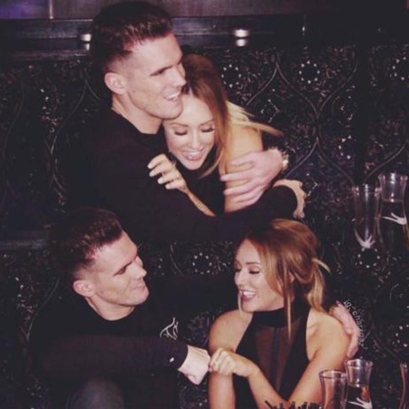 Charlotte Crosby and Gary 'Gaz' Beadle