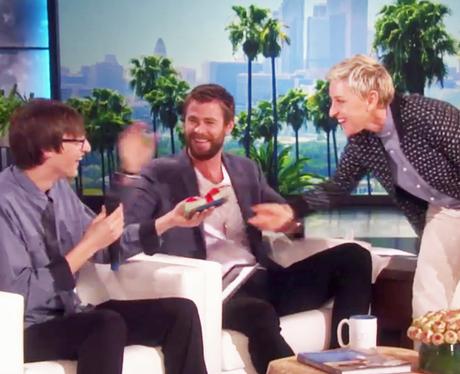 Chris Hemsworth Ellen DeGeneres Fan