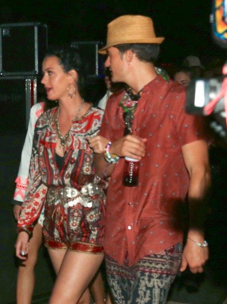 Coachella 2016 Katy Perry and Orlando Bloom