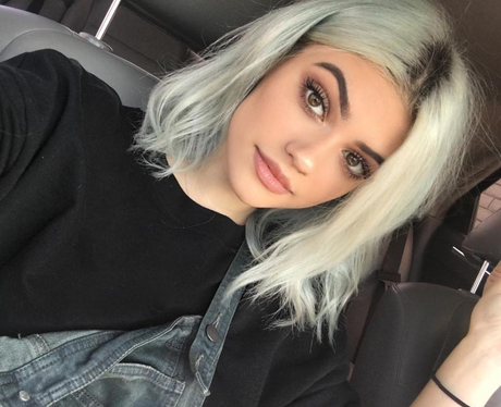 Kylie Jenner and Lucy Hale lookalike