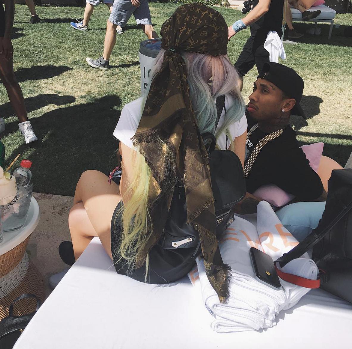 Kylie Jenner Tyga Coachella 2016