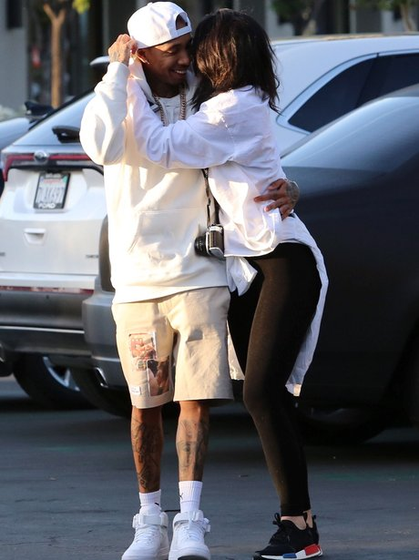 Kylie Jenner and Tyga look super loved up