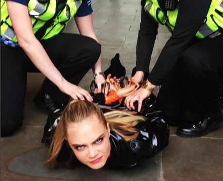POTW 18th April Cara Delevingne gets arrested on s