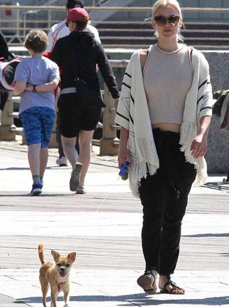 POTW 18th April Jennifer Lawrence goes for a walk