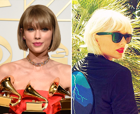 Taylor Swift Goes Blonde