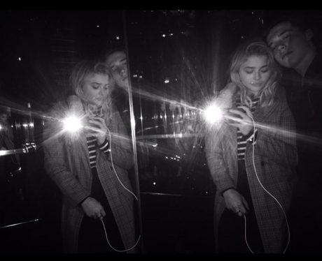 Chloe Grace Moretz and Brooklyn Beckham cosy up in