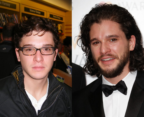 Game of Thrones then and now Kit Harington