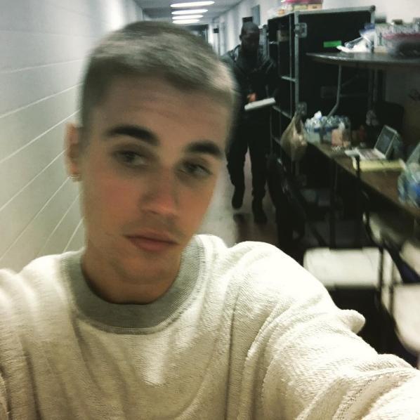 Justin Bieber Buzzcut