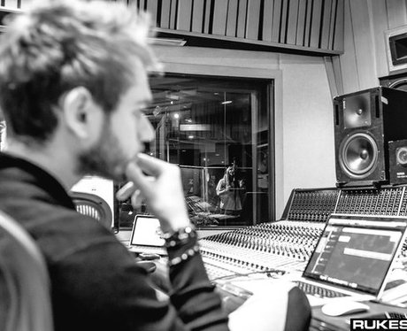 Kesha heads into the studio with Zedd