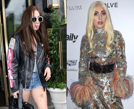 Lady Gaga Hair Transformation