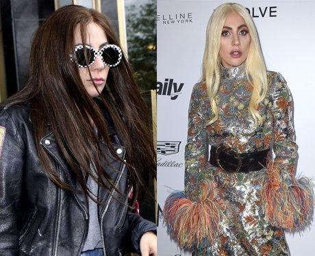 Lady Gaga Hair Transofmration