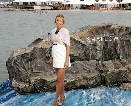 Blake Lively promotes The Shallows in Cannes