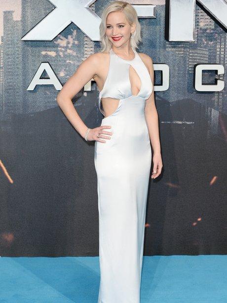 Jennifer Lawrence at the X-Men premiere