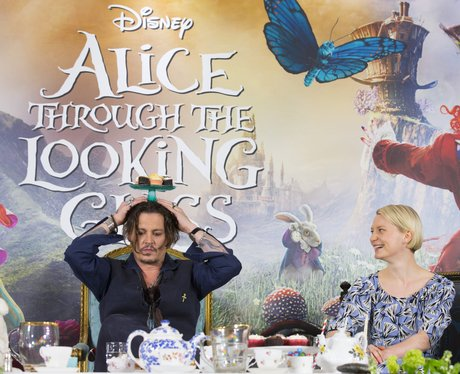 Johnny Depp at the Alice Through The Looking Glass