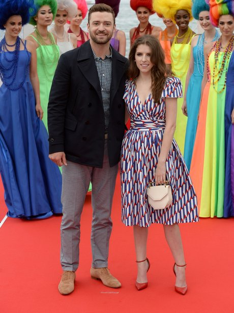 Justin Timberlake and Anna Kendrick in Cannes