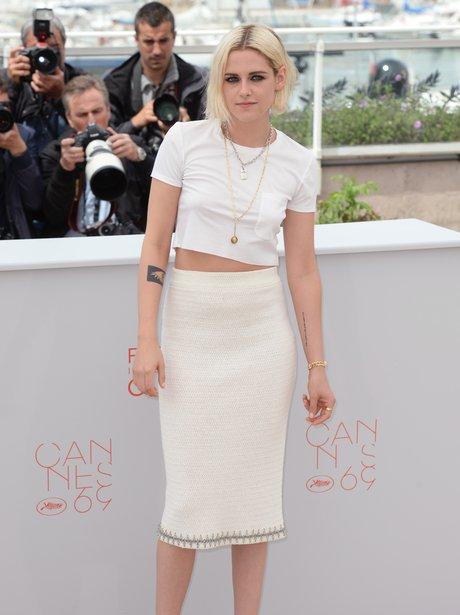Kristen Stewart Attends Cafe Society Premiere Cann