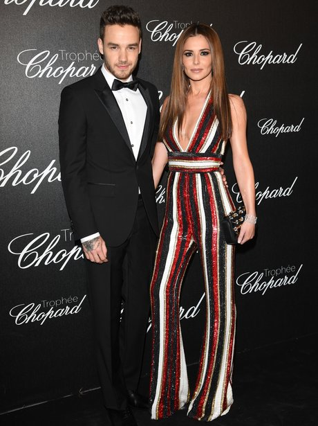 Liam Payne and Cheryl Cole in Cannes