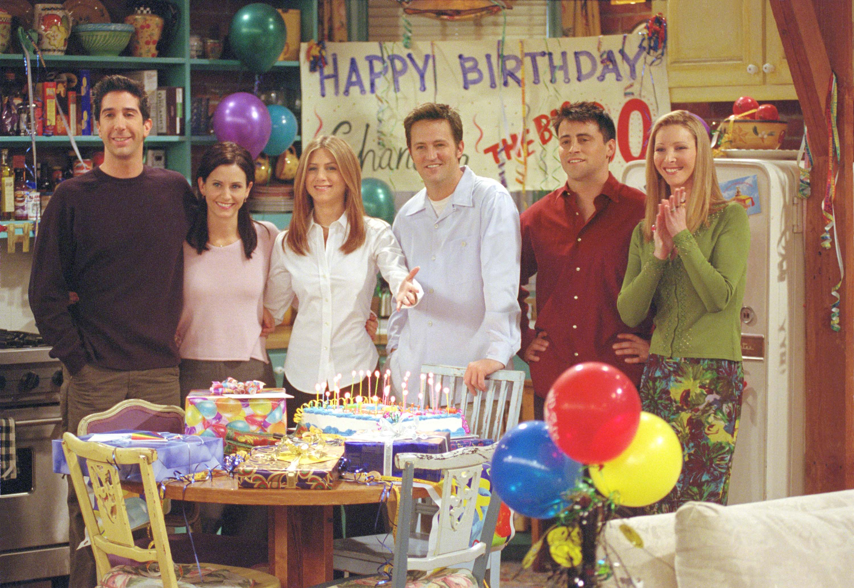 Monica Geller's Apartment Friends
