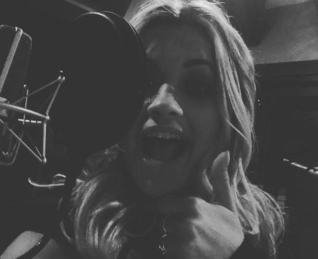 Rita Ora - back in the studio?