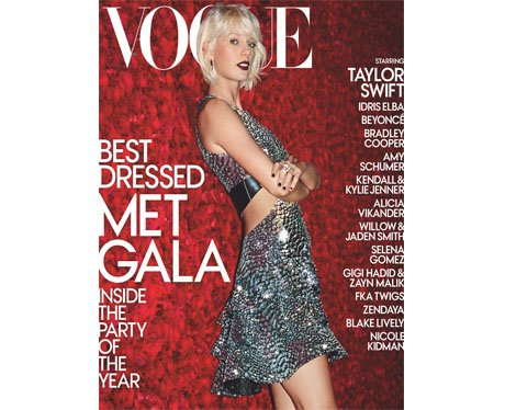 Taylor Swift Vogue Met Ball Special