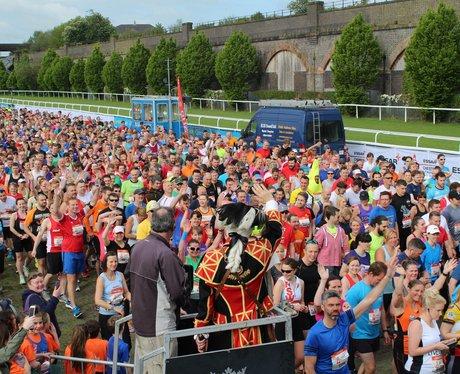 The Street Stars were at the Chester Half Marathon