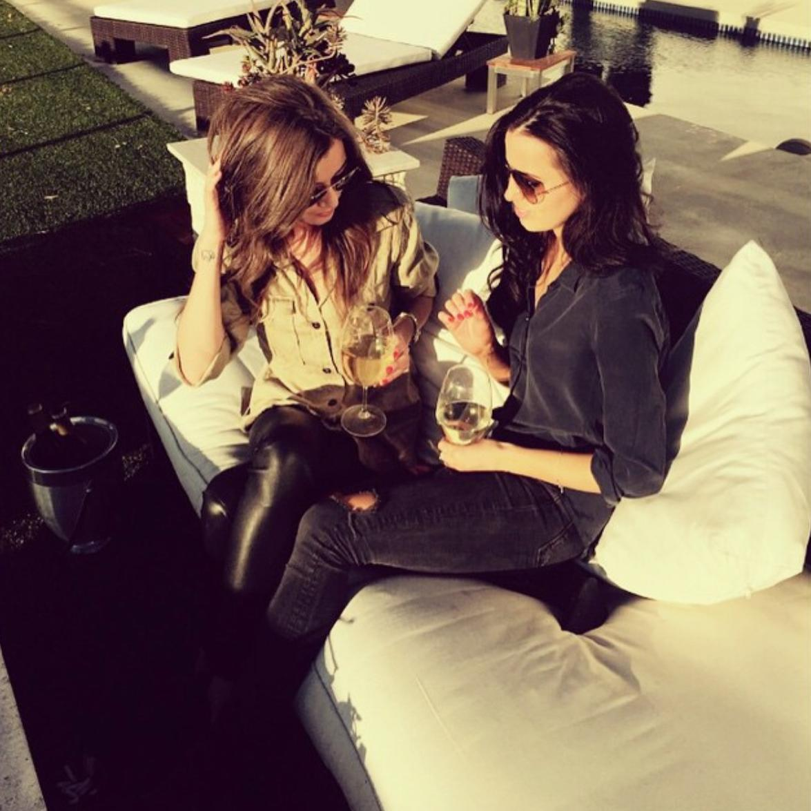 Eleanor Calder and Sophia Smith