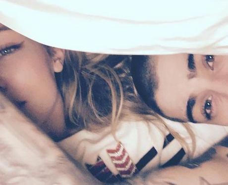 Gigi Hadid and Zayn Malik instagram pic