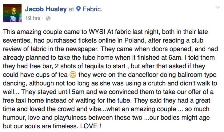 Jacob Husley Fabric Post